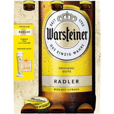 Warsteiner Radler zitrone