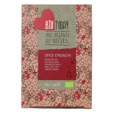 Bio Today Spicy strenght tea