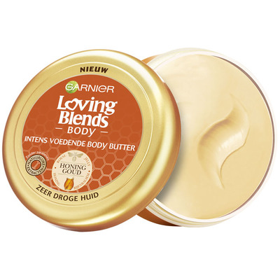 Garnier Loving Blends honing goud bodybutter