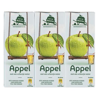 Van de Boom Appel met scheutje water 30% min suiker