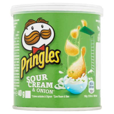 Pringles Chips Cream & Union