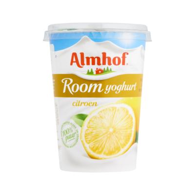 Almhof Roomyoghurt Citroen