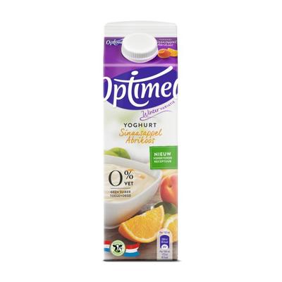 Optimel Magere yoghurt sinaasapp abrikoos 0% vet