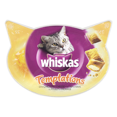 Whiskas Temptations kip-kaas