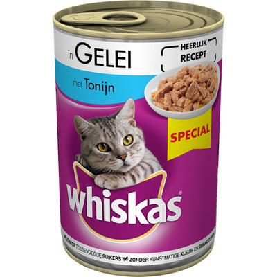 Whiskas Tonijn in gelei