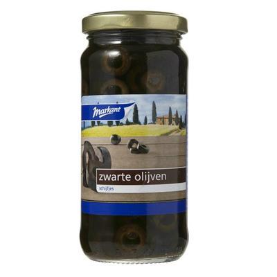 Markant Olijven Zwart Schijfjes