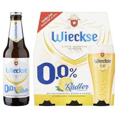 Wieckse Radler citroen 0.0% fles