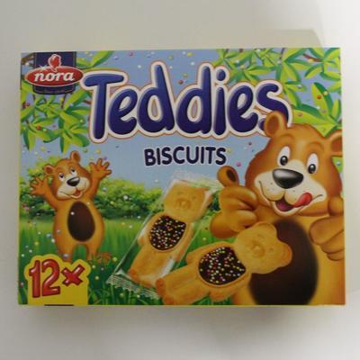 NORA TEDDIES BISCUITS 175GR
