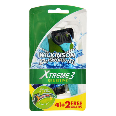 Wilkinson Xtreme 3 sensitive comfort 4+2