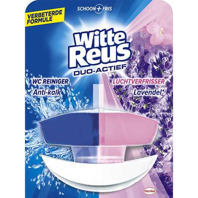 Witte Reus Duo actief lavendel toiletblok
