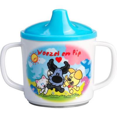 Woezel & Pip Drinkbeker blauw