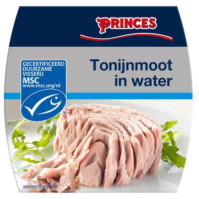Princes Tonijnmoot in water msc