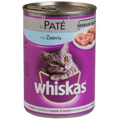 Whiskas Paté zeevis