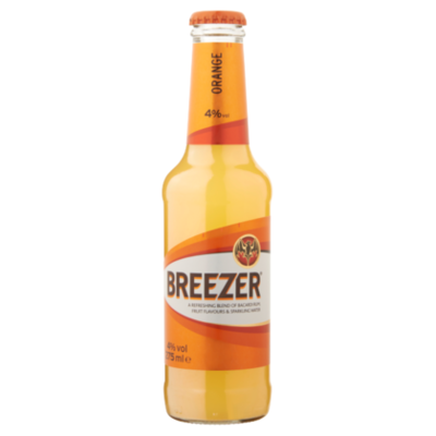 Bacardi Breezer orange