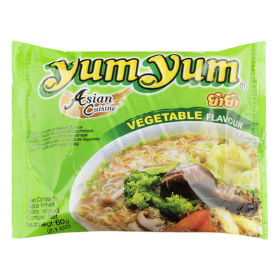 Yum Yum Vegetable flavour instant noodles