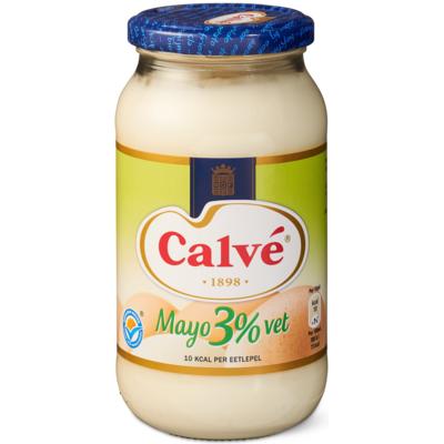 Calvé mayonaise 3% vet