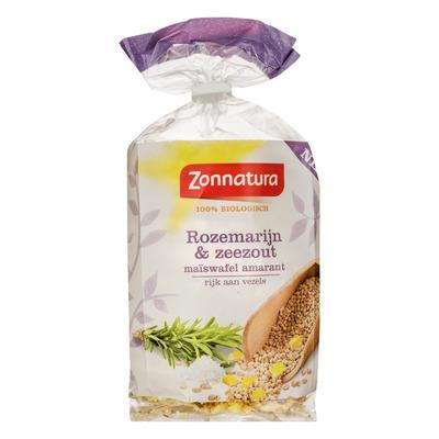 Zonnatura Maïswafels amarant rozemarijn & zeezout