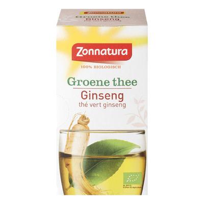 Zonnatura Groene thee ginseng