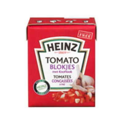 Heinz Tomato blokjes met knoflook