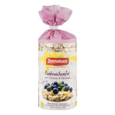 Zonnatura Boekweitwafels met quinoa & lijnzaad