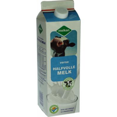 Melkan Halfvolle melk