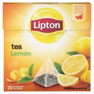 Lipton Thee lemon 20 stuks