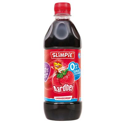 Slimpie Siroop aardbei 0% suiker