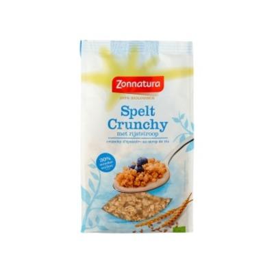 Zonnatura Crunchy spelt rijststroop