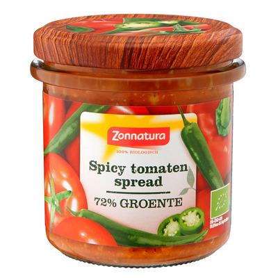 Zonnatura Groentespread spicy tomaat bio