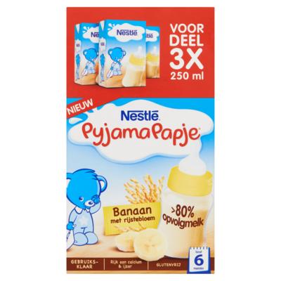 Nestle Pyjamapapje banaan 3-pak