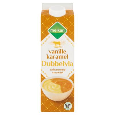Huismerk Dubbelvla vanille-karamel