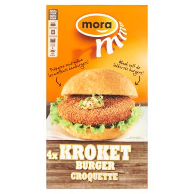 Mora Kroketburger 4x 80 gram