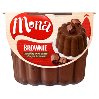 Mona Pudding Brownie 450 ml