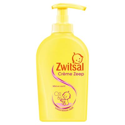 Zwitsal Crème Zeep Pomp Baby 300 ml