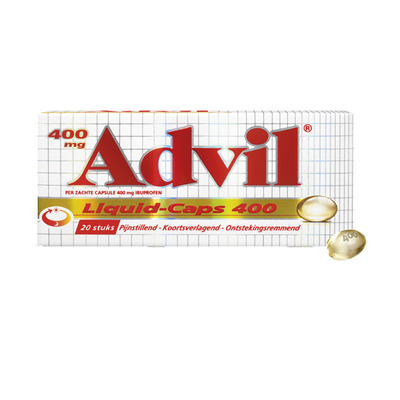 Advil Liquid caps 400 mg