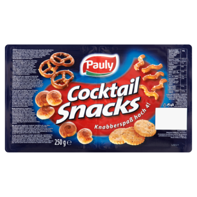 Pauly Cocktailsnacks