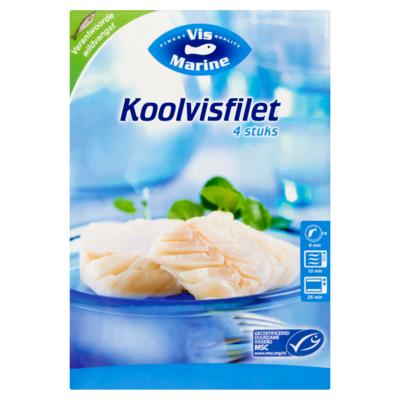 Vismarine Koolvisfilet 4x 100 gram