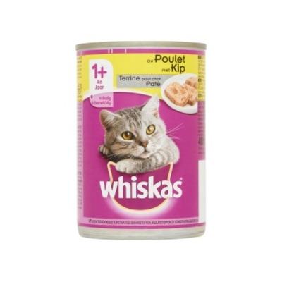 Whiskas Paté met kip