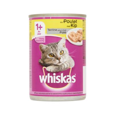 Whiskas Paté met Kip 1+ Jaar