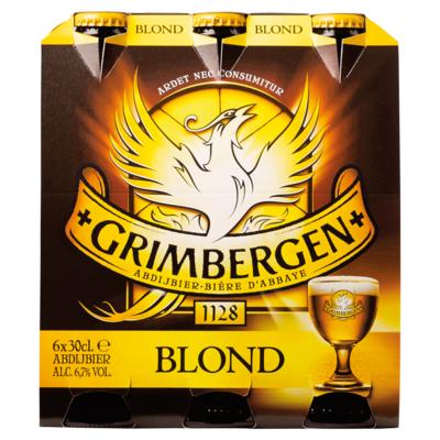 Grimbergen Blond Flessen 6 x 30 cl