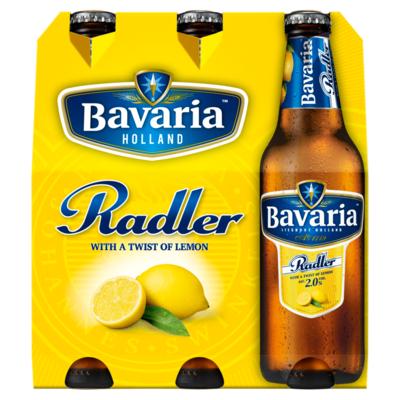 Bavaria Radler lemon 6 x 30cl