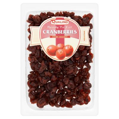 Qualino Cranberries Licht Gezoet 175 g