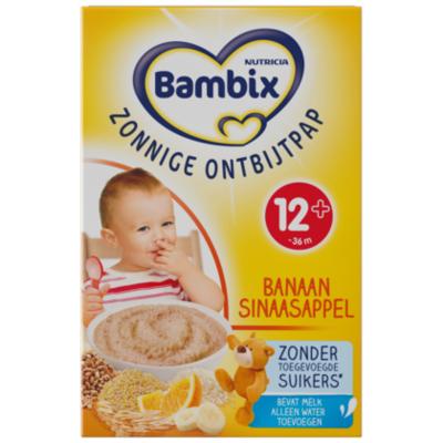 Bambix Melkpap Sinaasappel Banaan 7 Granen