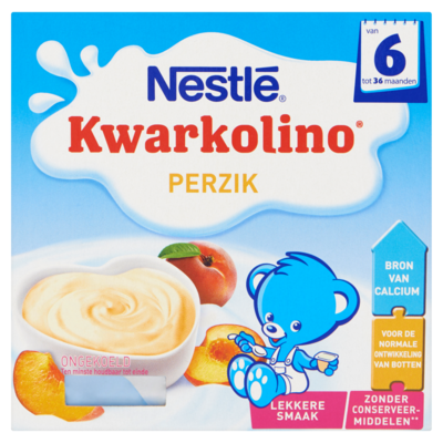 Nestle Kwarkolino perzik 4-pak