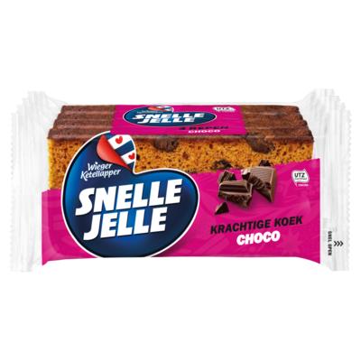 Snelle Jelle Kruidkoek Choc 4-Pack 214 g