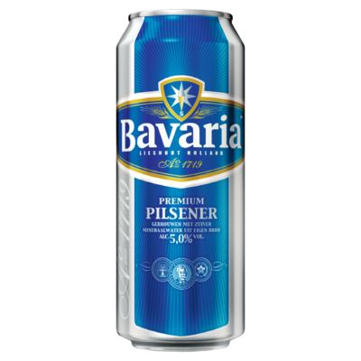 Bavaria Premium Pilsener 5.0% Blik Bier 50 cl