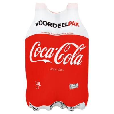 Coca Cola 4 x 1,5 L
