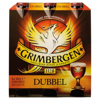 Grimbergen Dubbel Fles 6 x 30 cl