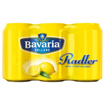 Bavaria Radler lemon 6 x 33cl