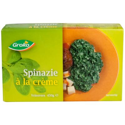 Groko Spinazie a la crème